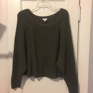 Nordstrom BP Olive Green Sweater